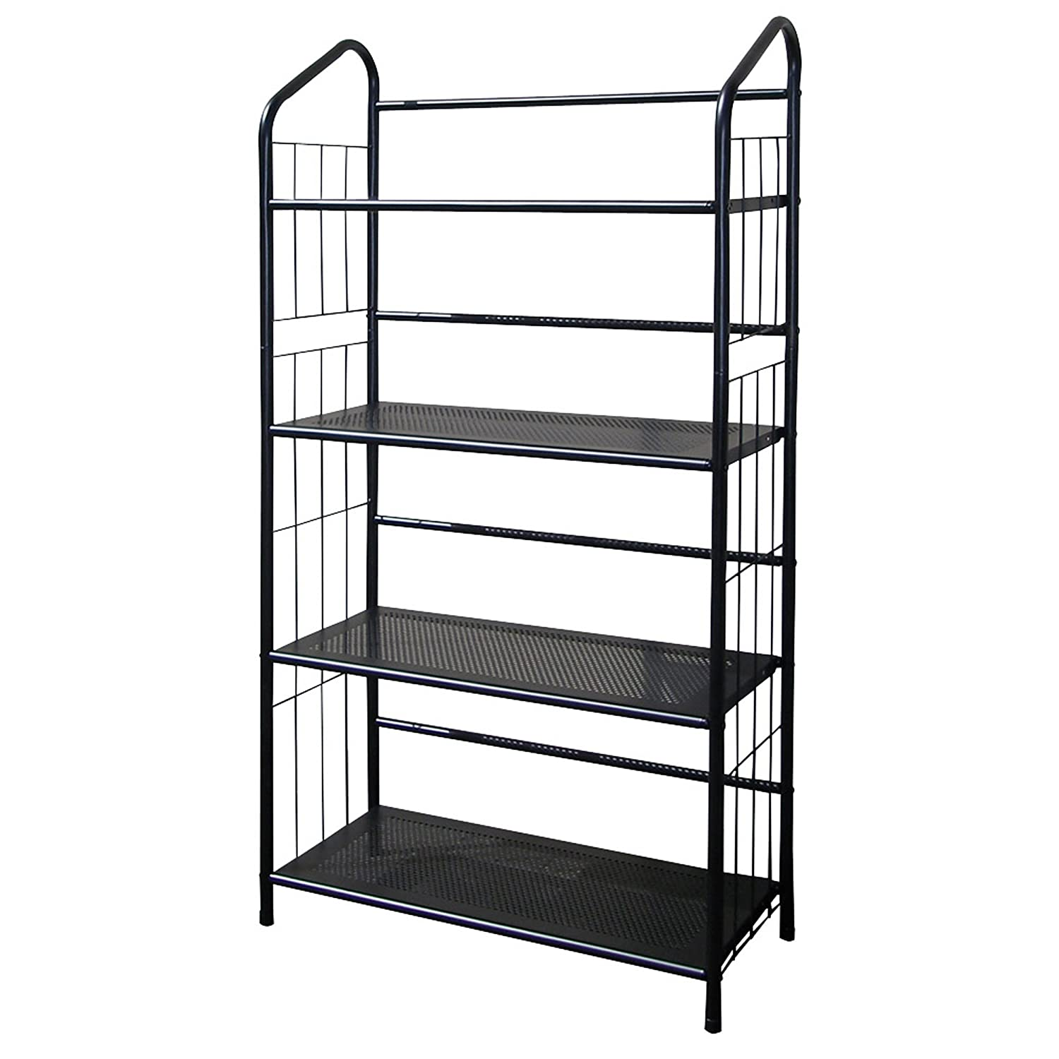 Amazon.com: ORE International R597-4 Four Tier Metal Book Rack ...