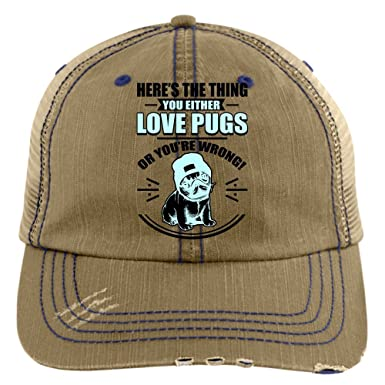 I Love My Pug Trucker Cap 85378d4e3a7