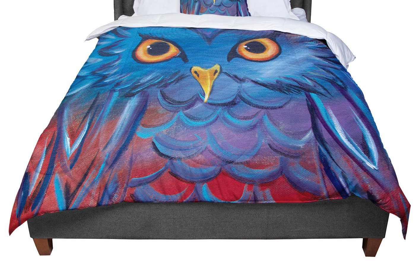 Cal King Comforter KESS InHouse Empire Ruhl Energy Abstract Multicolor Pattern King 104 X 88