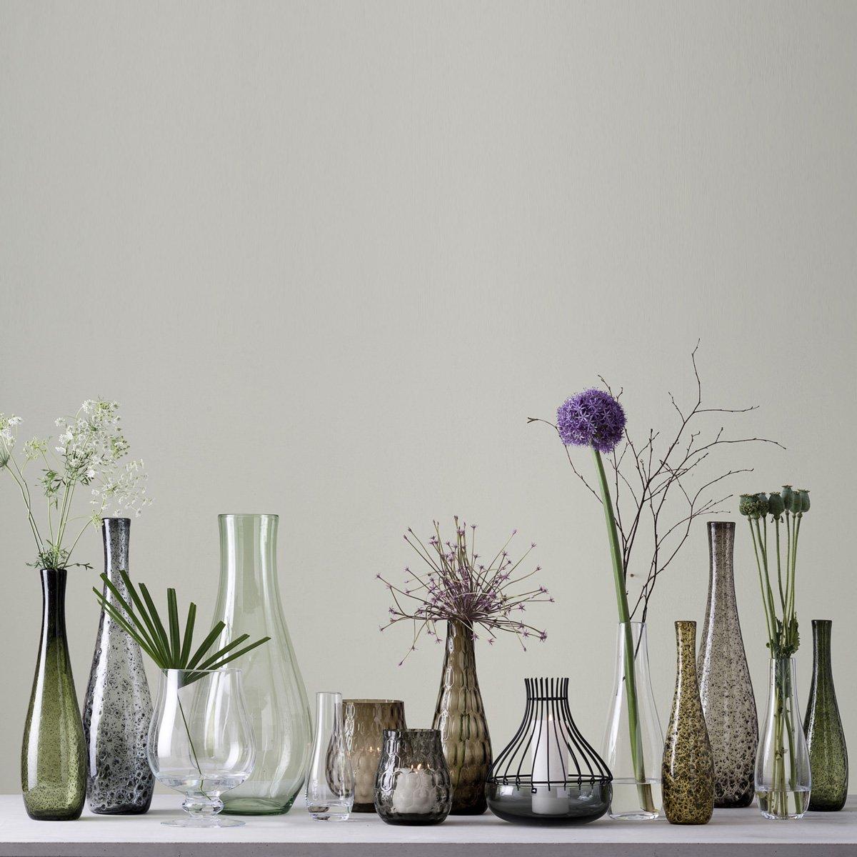 Leonardo Leonardo Leonardo GIARDINO Vase Pulver 60 cm braun, Glas, braun 15.5 x 15.5 x 60 cm B01LZTO1XP Vasen ba4856