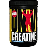 Universal Nutrition 100% Pure Flavored Creatine Monohydrate Powder, Blue Raspberry, 500 Gram (FID50914)