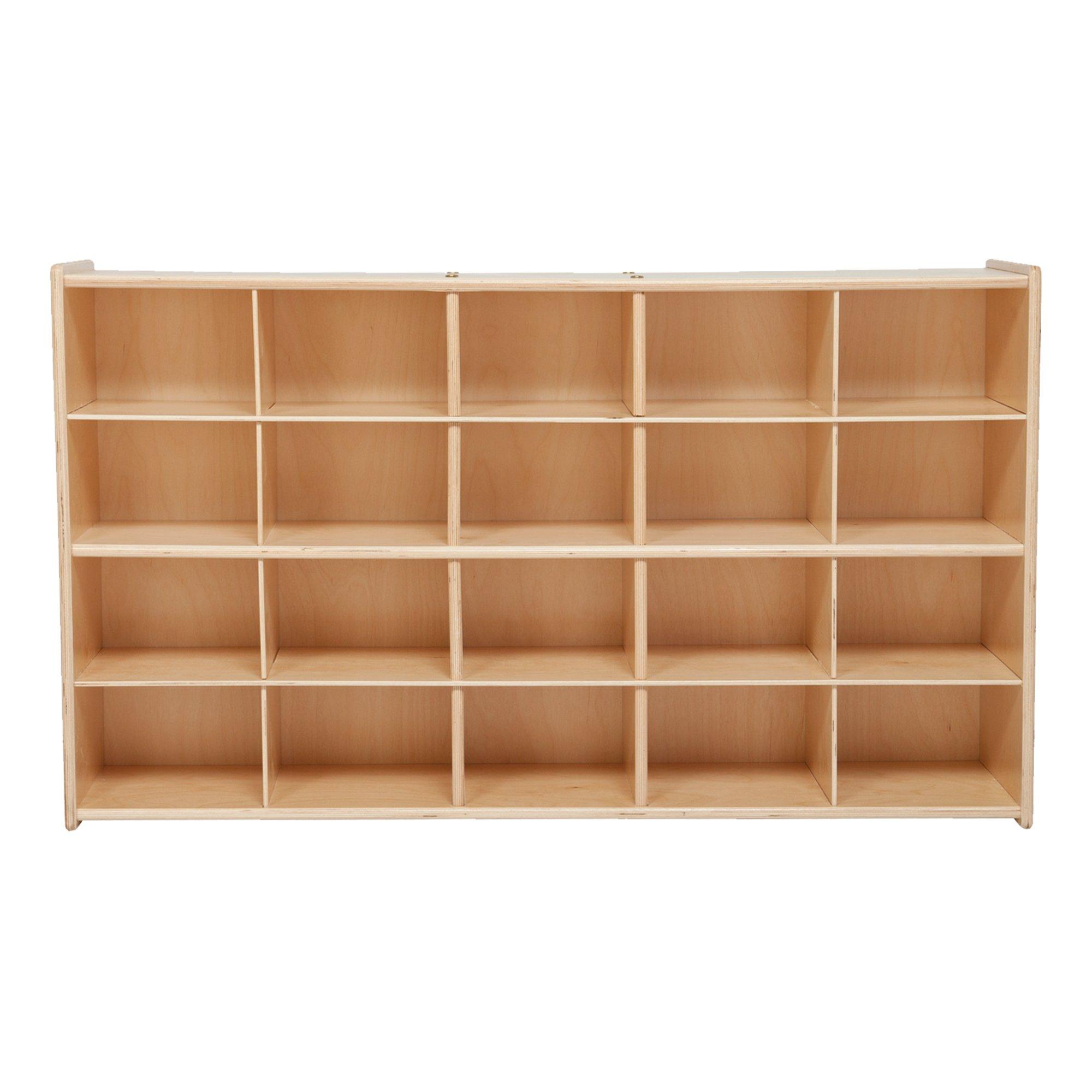 Sprogs 20-Tray Wooden Storage Unit - Unassembled, SPG-70930