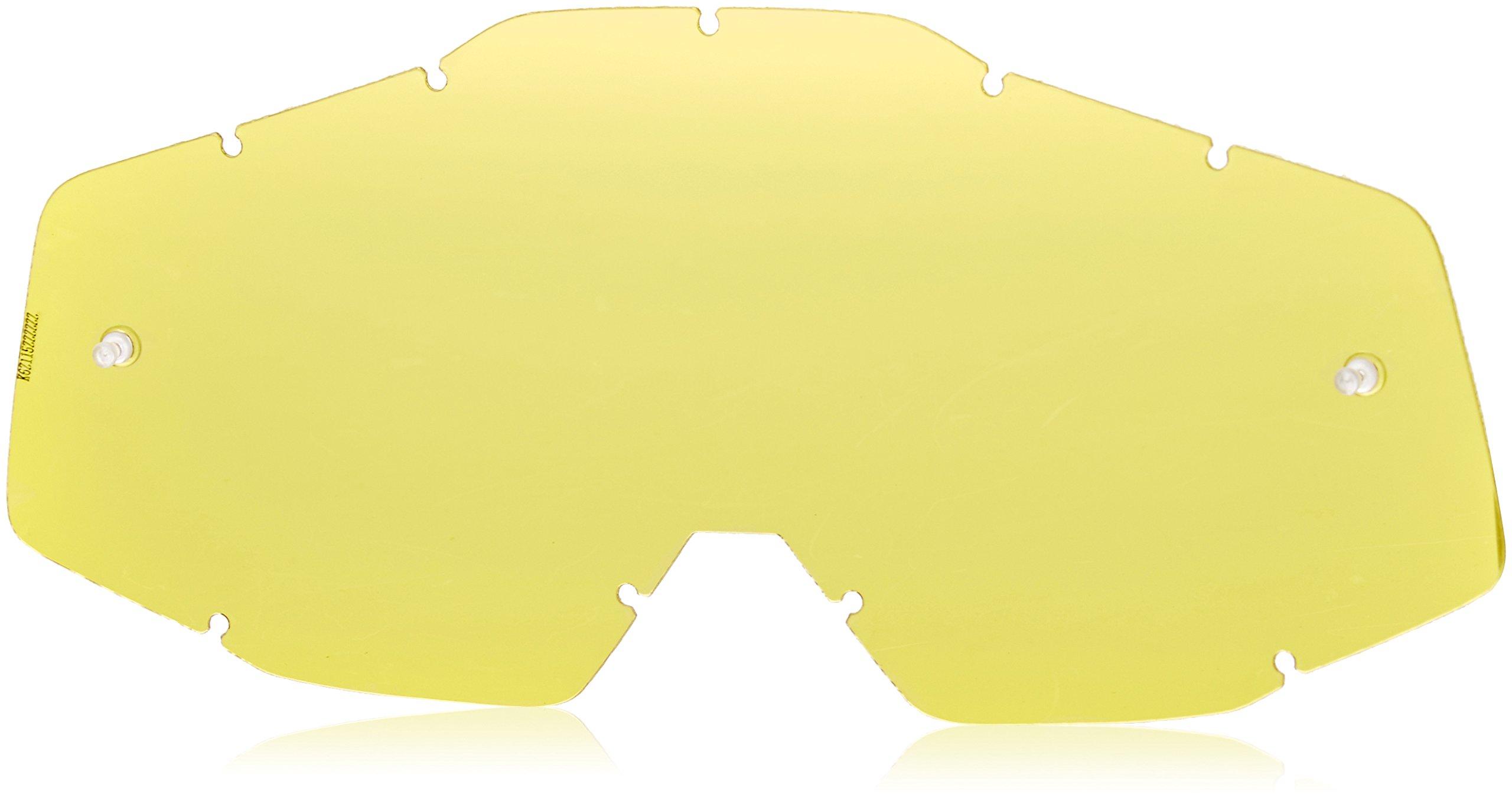 100% Racecraft/Accuri/Strata Anti-Fog Replacement Lens With Posts (UNISEX)