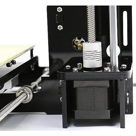 LESHP Impresora 3D (Se puede imprimir PLA y ABS, Kit de piezas ...