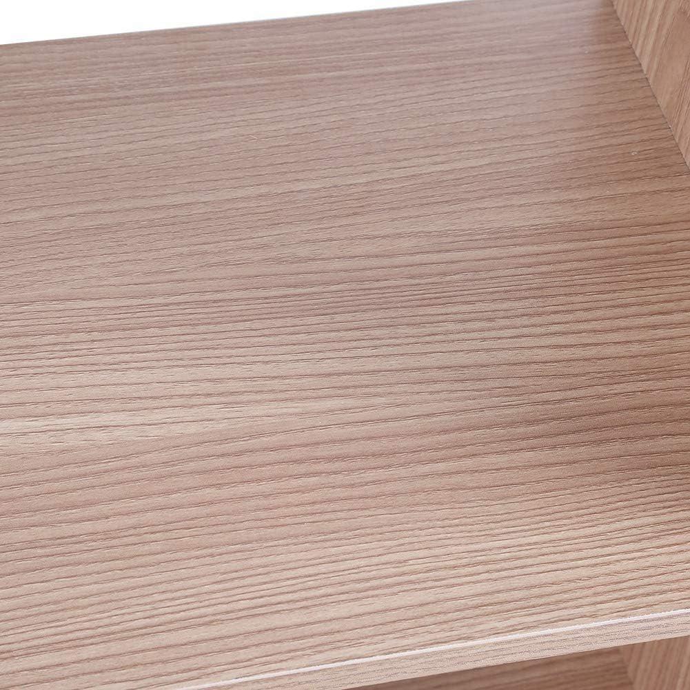 Eiche Greensen Lagerregal Holz B/ücherregal Raumteiler Stufenregal Treppen Regale Ausstellungsregal Modern Lagerregal mit 10 Gitter Raumteiler Regal Standregal f/ür B/üro zu Hause Arbeitszimmer