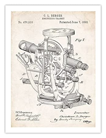 Amazon Com Steves Poster Store Engineer Transit Invention 1892 Us