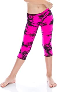 product image for Kids Marble Tie Dye Leggings -Made in USA-