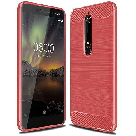 Amazon.com: Funda para Nokia 6.1, funda para Nokia 6 2018 ...