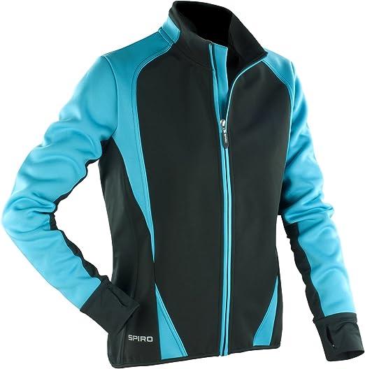 Spiro Womens//Ladies Freedom Softshell Sports//Training Jacket