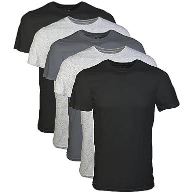 62ac9c1a252 Gildan Men s Assorted Crew T-Shirt Multipack at Amazon Men s ...