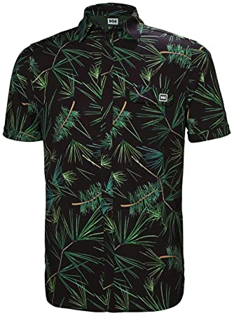 Helly Hansen OYA - Camiseta Manga Corta Hombre - Verde Talla M ...