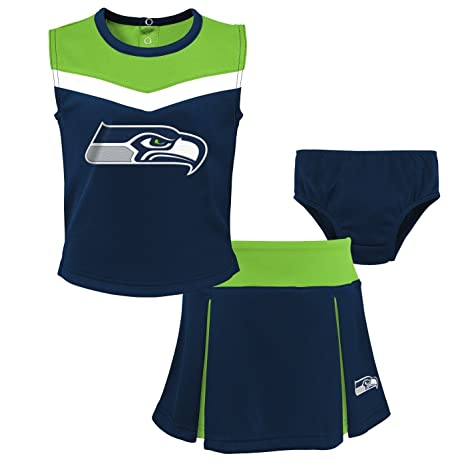 08ace8adb Image Unavailable. Image not available for. Color  Outerstuff Seattle  Seahawks NFL Toddler Girls ...