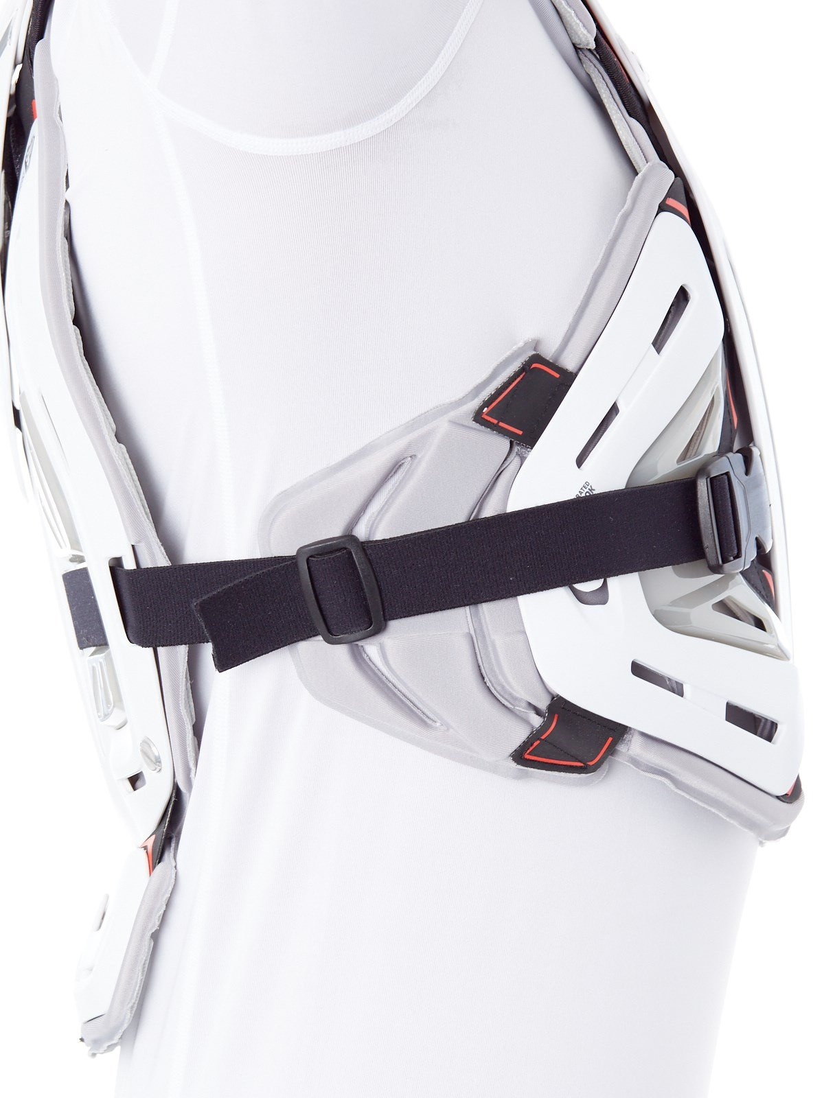Troy Lee Designs 5955 Chest Body Guard-White-L by Troy Lee Designs (Image #4)