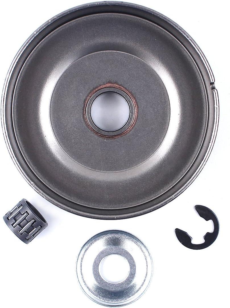 Haishine 3//86T Kit Frizione per Rocchetto per pignone Frizione per Frizione STIHL 017 018 021 023 025 MS170 MS180 MS210 MS230 MS250# 1123 640 2003