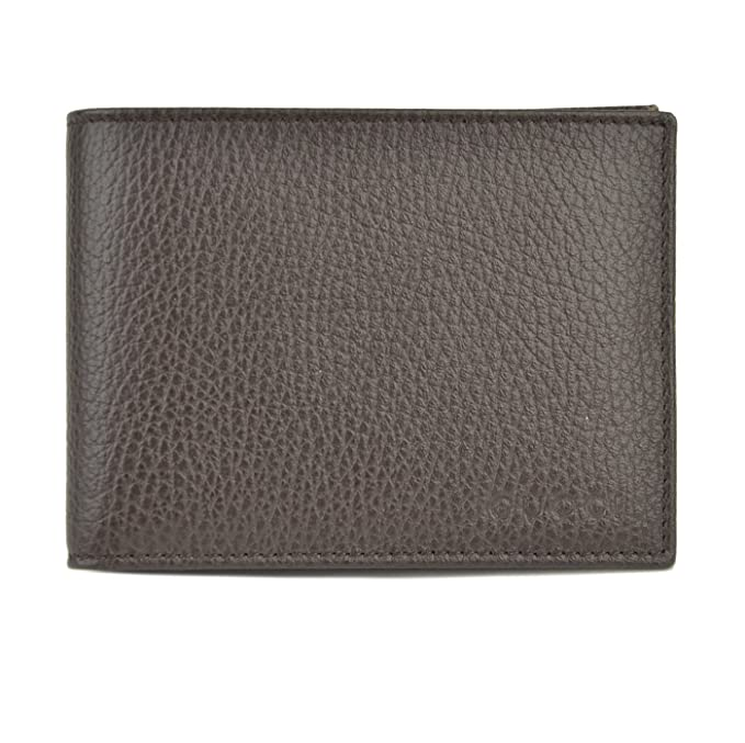 11b04b85a4e Mens Gucci Wallet 278596 Brown Leather Embossed Logo Trademark Bifold   Amazon.ca  Clothing   Accessories