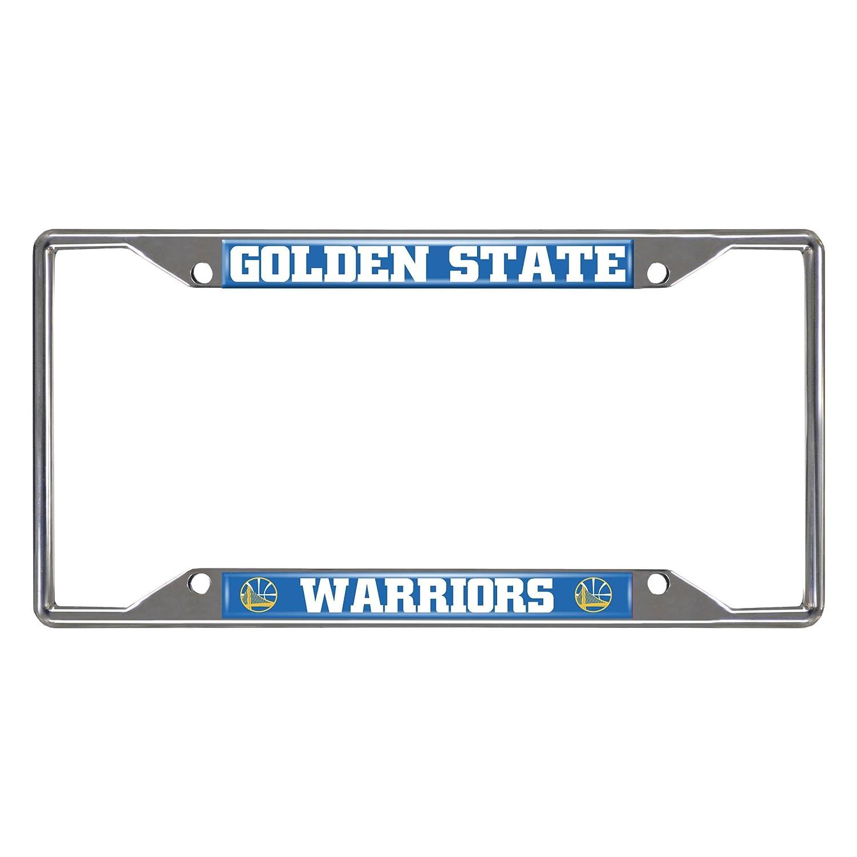 Amazoncom Fanmats 20409 Nba Golden State Warriors License Plate