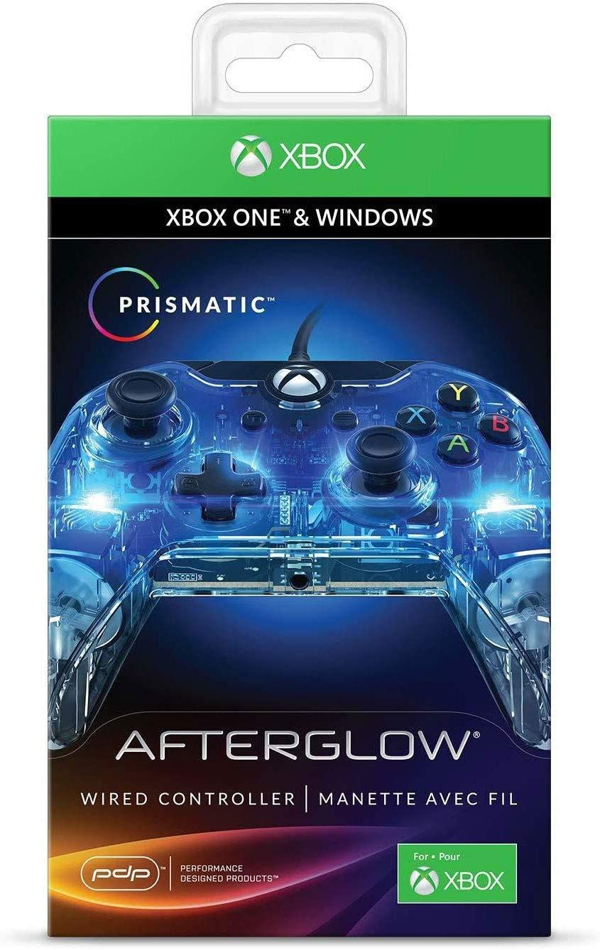 Amazon.com: PDP Afterglow Prismatic Wired Controller for Xbox One ...