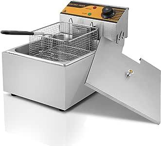 HPcutter Freidora Freidora Electrica Deep Fryer Commercial Deep ...