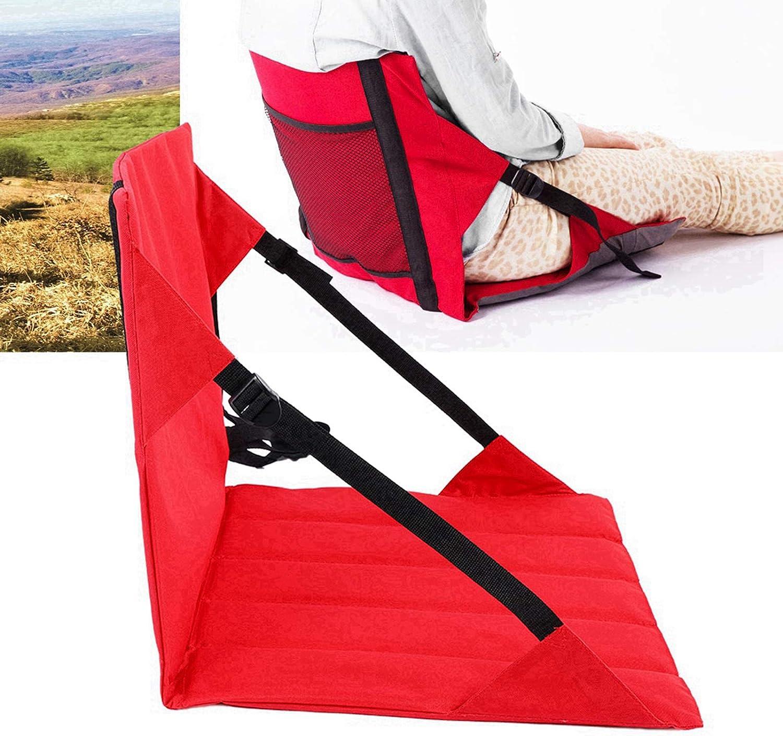 Dibiao Outdoor Folding Cushion,Portable Outdoor Camping Beach Stadium Folding Seat Cushion