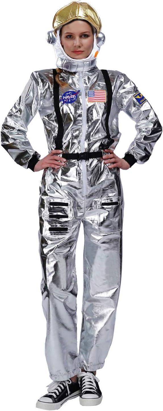 SEA HARE Disfraz de Astronauta Adulto (Mujer con Sombrero)
