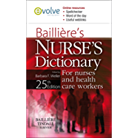 Bailliere's Nurses' Dictionary: for Nurses and Healthcare Workers