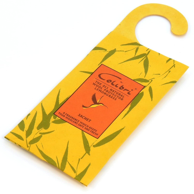 HANGERWORLD 2Anti Moth Insect Repellent Sachets Lemongrass Wardrobes Cupboards Drawers. CC-LEMONGRASS-HANG