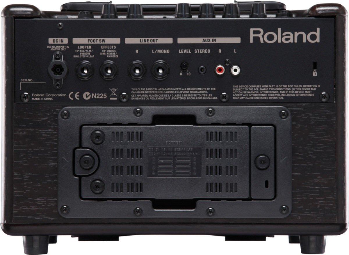 AC-33-RW(M - Roland: Amplificador guitarra acústica AC-33 RW: Amazon.es: Instrumentos musicales