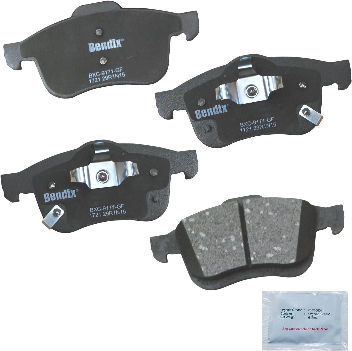 Front Bendix Premium Copper Free CFC1597 Premium Copper Free Ceramic Brake Pad