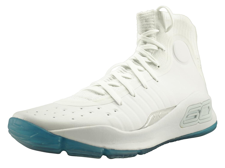 cdb3f7e5e55fe Under Armour - Chaussure de Basketball Curry 4 Blanc pour Homme Pointure -  45.5: Amazon.fr: Chaussures et Sacs