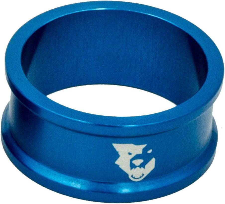 Wolf Tooth Components Headset Spacer 5 Pack 5mm Blue