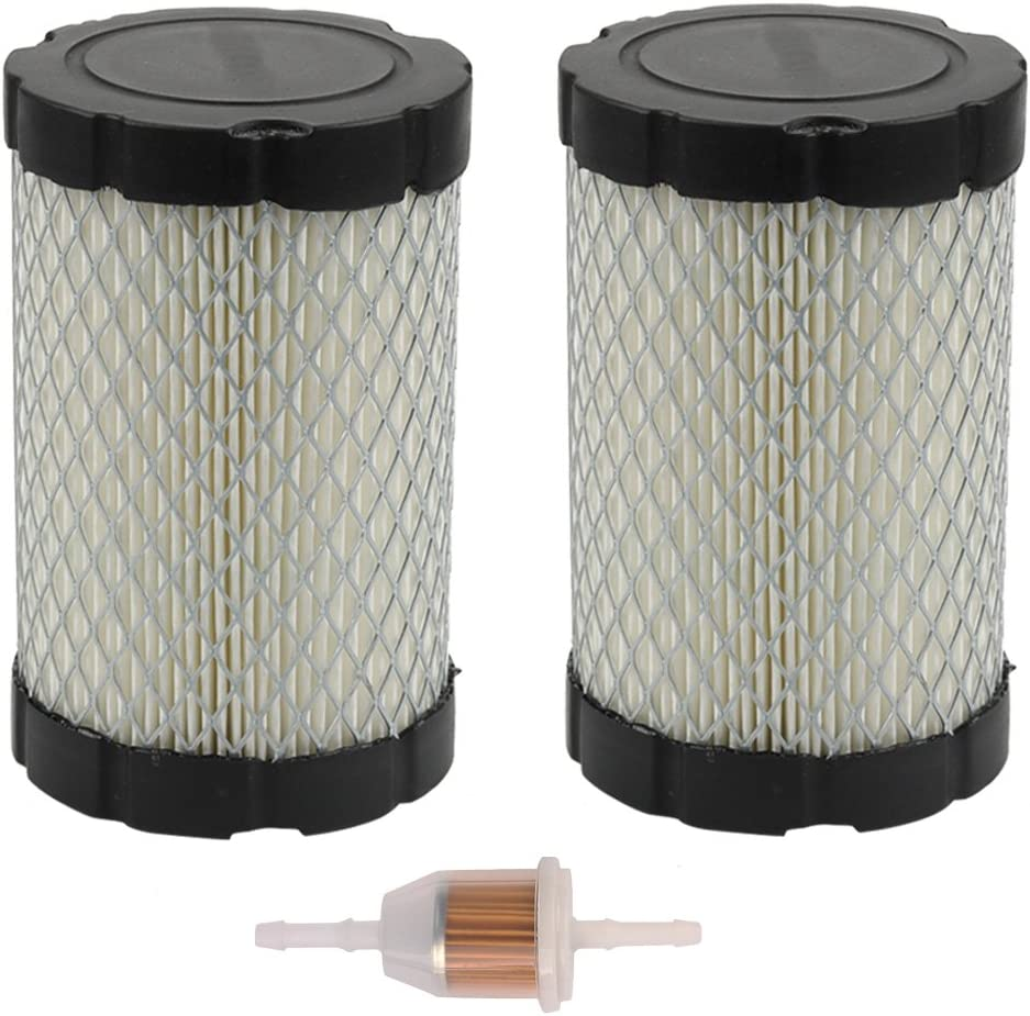 Butom (Pack of 2 796031 Air Filter for Briggs & Stratton 591334 594201 5428 5421 797704 310000 Engine John Deere MIU14395 D100 D110 D130 D140 D160 D170 D105 D120 LA135 LA145 L108 Lawn Tractor
