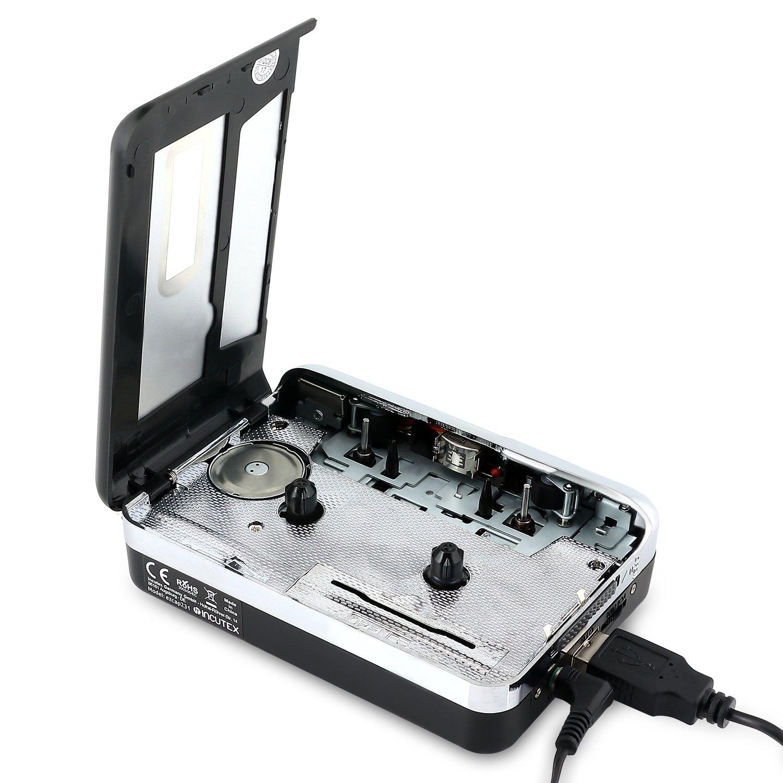 Incutex reproductor y convertidor de casetes en MP3 SIN PC: Amazon.es: Electrónica
