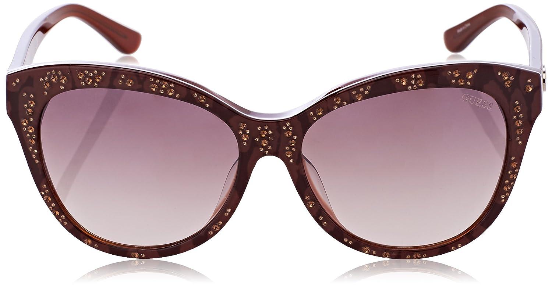 Sonnenbrille Lunettes FemmeArgenté De Gu7437 Guex5 5624cMontures 9IDHE2