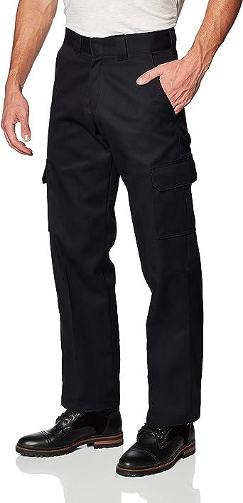 Amazon Com Pantalones De Trabajo Tipo Cargo Marca Dickies Para Hombres Relajados Corte Recto Clothing