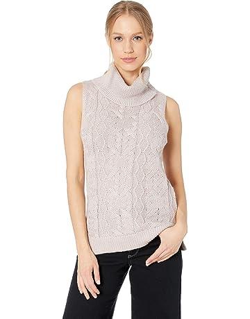 4ca70f3e616 BB Dakota Women s Time Sleeveless Turtleneck Sweater