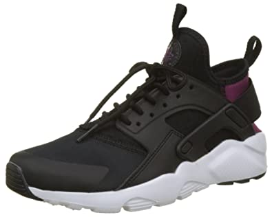 Nike Air Huarache Run Ultra (GG), Baskets Mixte Enfant, Noir (Black