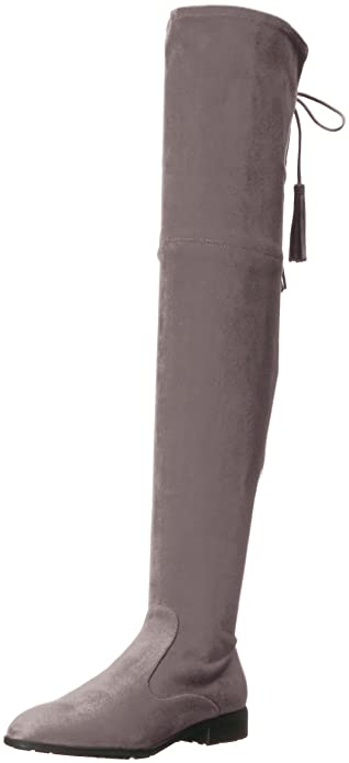 7710f5cbc75 Marc Fisher Women s Olympia Over The Over The Knee Boot Grey 6 Medium US