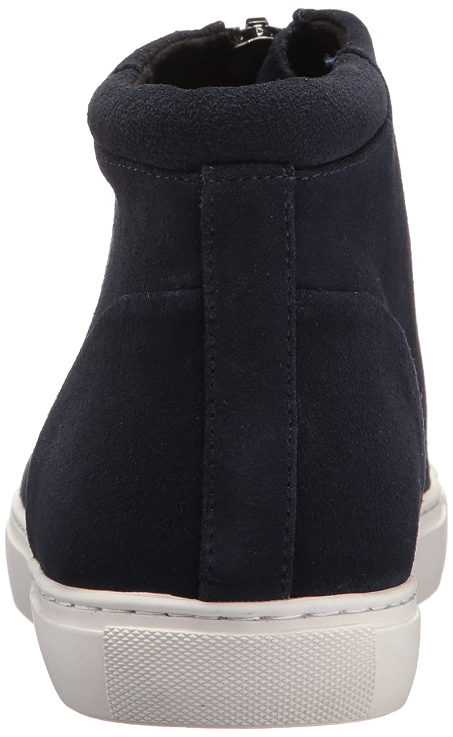Kenneth Cole New York Women's Kayla High Top Front Zip Suede Fashion Sneaker B06ZYBP6D5 6.5 B(M) US|Navy