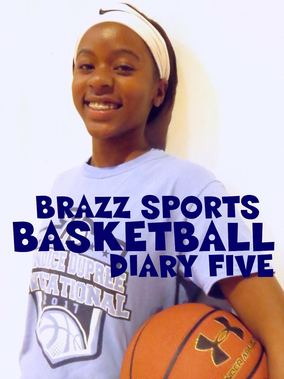 Brazz Sports Basketball Diary Five