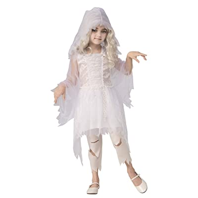 Rubie's Ghostly Girl Costume for Kids: Toys & Games
