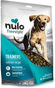 Nulo Puppy & Adult Freestyle Trainers Dog Treats: Healthy Gluten Free Low Calorie Grain Free Dog Training Rewards