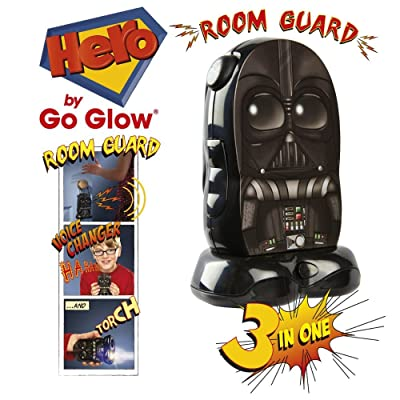 Star Wars Darth Vader 3-in-1 Room Guard Torch Voice Changer: Toys & Games