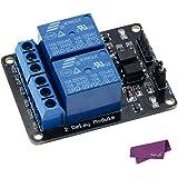 SalesLa 5V 1/2/4/8 canali relè bordo del modulo per Arduino Raspberry Pi BRACCIO AVR DSP del PIC ( 2 channels)