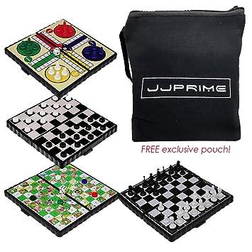 Jjprime 4 Popular Classic Fun Travel Juegos De Mesa Damas Y