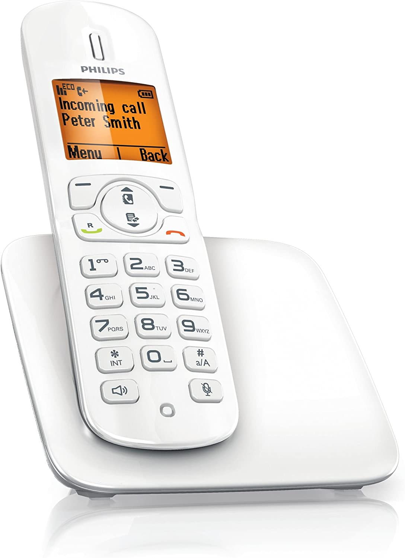 Philips CD2801W/ES Teléfono inalámbrico BeNear (blanco brillo): Amazon.es: Electrónica
