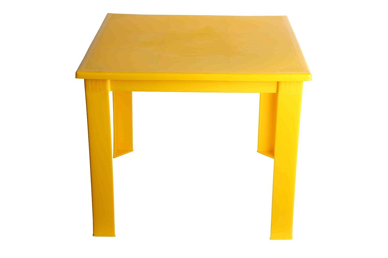 Mesa plegable de plástico para niños, para el hogar, jardín, interior y exterior, mesa de café. rosa rosa Turan Plastic