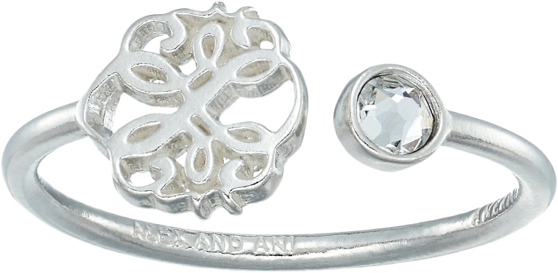 Alex and Ani Women's Path of Life Ring Sterling Silver One Size