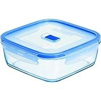Purebox Active Quadrado Luminarc Transparente 760 ml Pacote de 2 Vidro Temperado