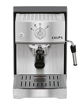 Krups - Xp5240 bomba tamp precisa máquina de espresso, de acero inoxidable: Amazon.es: Hogar