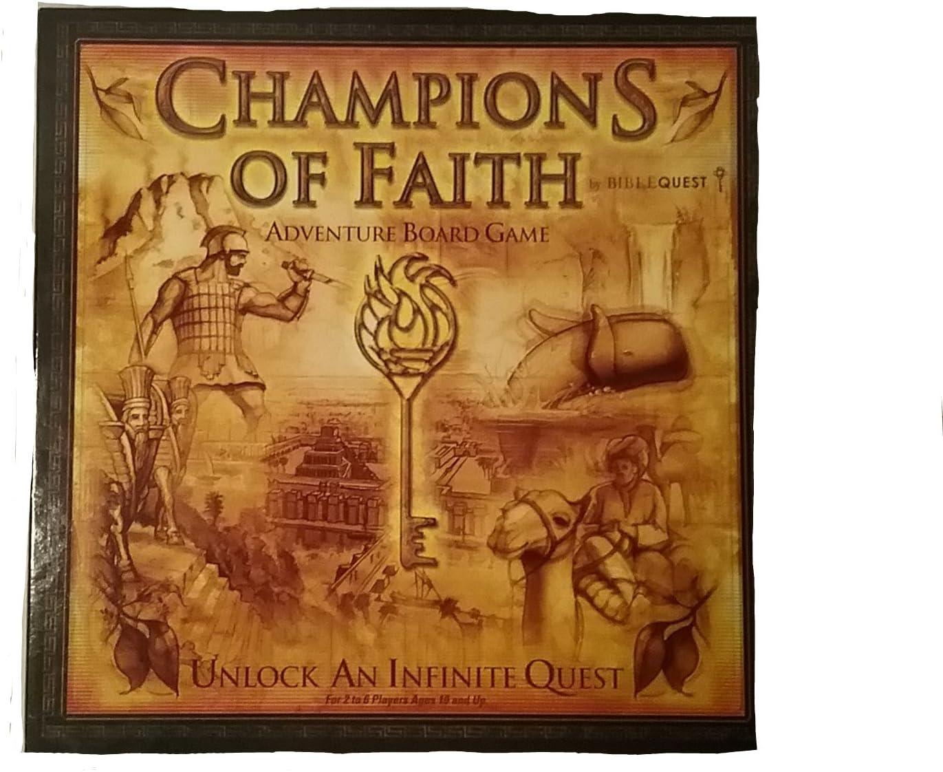 Biblequest Champions of Faith Adventure Board Game.: Amazon.es: Juguetes y juegos